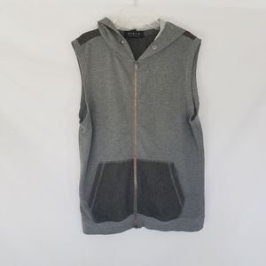 21Men Sleeveless Hoody Sweater